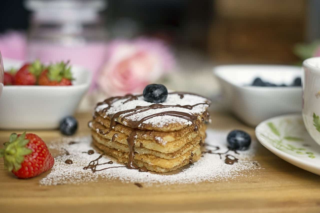 Low Carb Pfannkuchen mit Bio Kokosöl