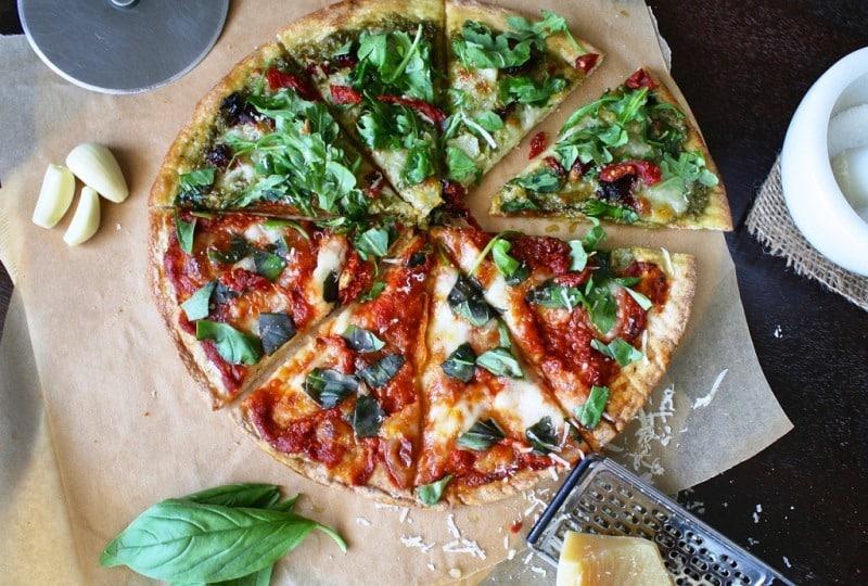 Pizza mit Bio-Kokosmehl