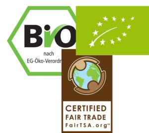 Bio- & Fair Trade Zertifikat